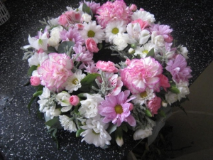 10inch Funeral Wreath