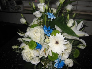 Tall Posy Arrangement