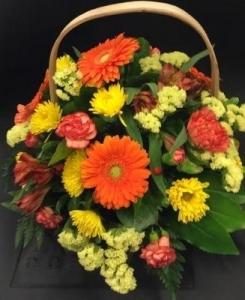 Orange And Yellow Basket