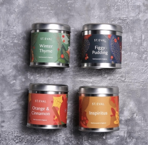 Festive Soy Candle Tin