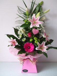 Pink Lady Aqua Bouquet