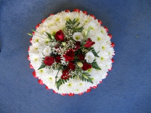 Red Posy Pad