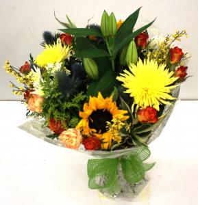 Vibrant Tied  Bouquet