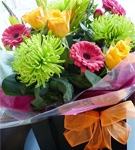 Vibrant Gift Bag Bouquet