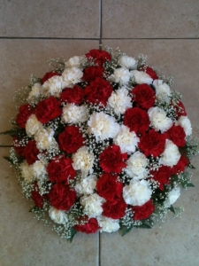 Carnation Wreath