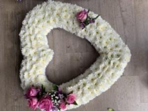 Open White Heart