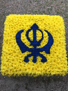 Sikh Large Pillow Tribute