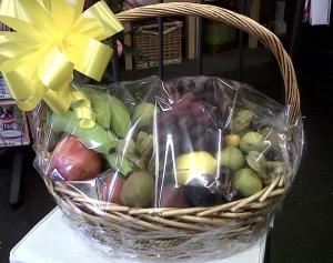 Valentines Fruit Basket