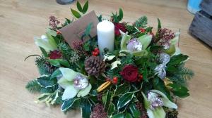 Large Candle Arrangement