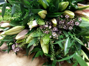 Scented Lily Hand Tied Bouquet