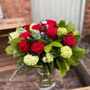 Luxe Dozen Rose