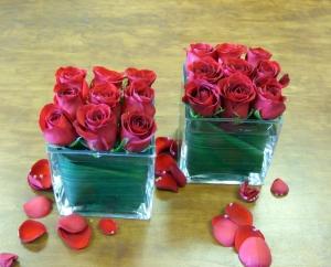 9 Rose Cube