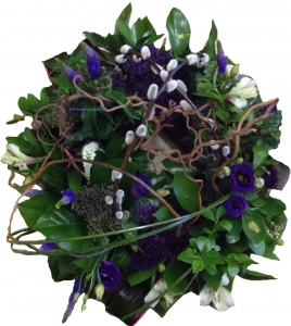 Modern Natural Wreath