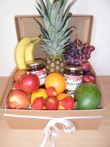 Fruit And Jam Hamper