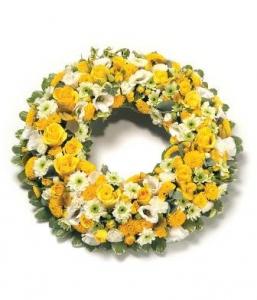 Sunshine Wreath