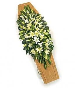 Pure Classic Lily Coffin