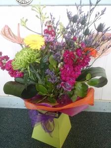 Aqua Bouquet In Gift Box