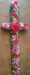 Funeral Tribute Cross