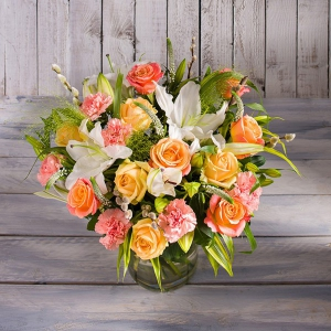 Rose & Lily Blossom