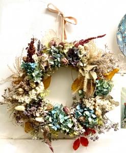 Seasonal Dried Wreath