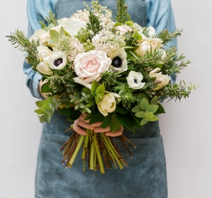 Rose And Anemone Bouquet