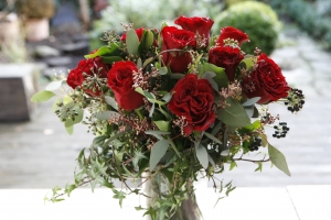 A Dozen Redroses