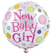 New Baby Girl Balloon