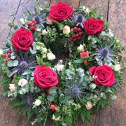 Wreath: Rose And Thistle