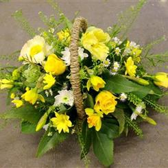 Basket: Seasonal Yellow
