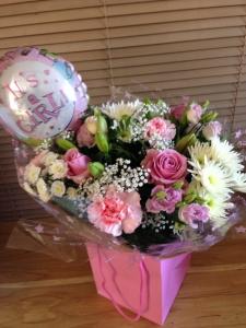 Precious Pink & Balloon