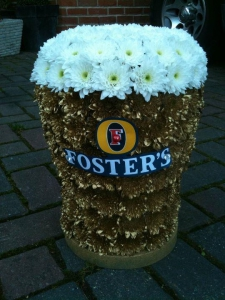 Pint Funeral Tribute