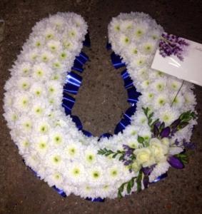 Horseshoe Funeral Tribute