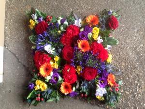 Cheerful Funeral Cushion