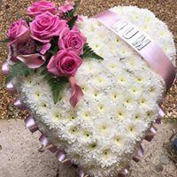 Classic Heart Flowers