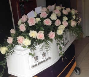 Luxury Rose Casket Spray