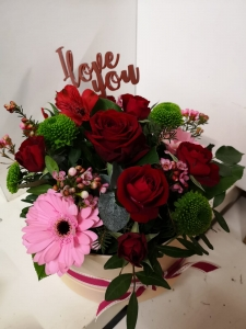 Valentines Hat Box