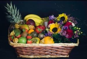 Flower And Fruit Hamper
