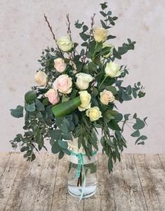 Tiffany Rose Vase