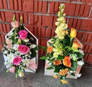 Envelope Flower Box