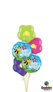 Bee Well Balloon Bouquet