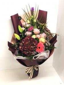 Plum Mix Bouquet