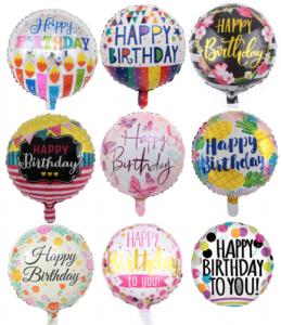 Balloons Foil Helium