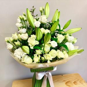 Luxury All White Bouquet