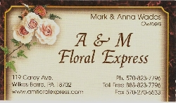 A and M Floral Express