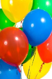 A Dozen Latex Balloons