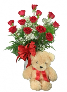 Alaskan Teddy And Roses!