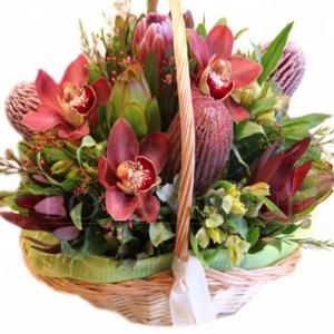 Australian Native Flower Basket