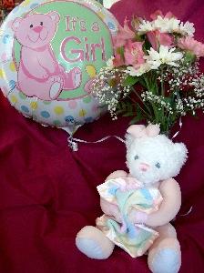 Baby Girl Bear Bud