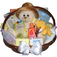 Baby Love Unisex Basket
