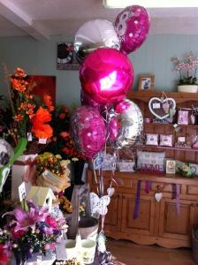 Balloon Bouquet (5 Balloons)